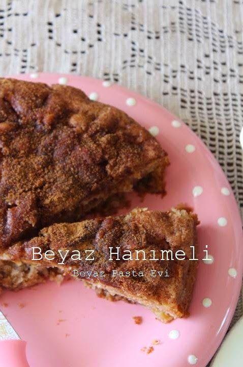 Kıtırlı elmalı kek (Apple cake)
