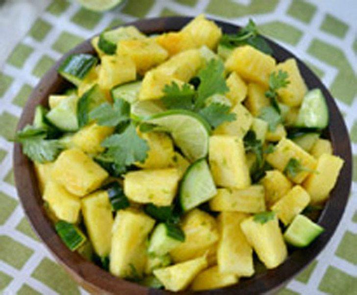Σαλάτα με ανανά