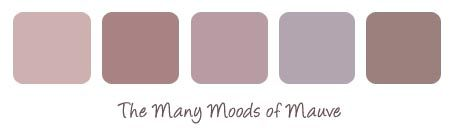 Mauve Wall Color | Ask the Designer – prints that coordinate with mauve walls