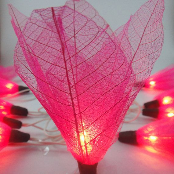 Diy Floral String Lights : 17 Best ideas about Flower Fairy Lights on Pinterest Flower lights, Diy fairy house and Diy ...