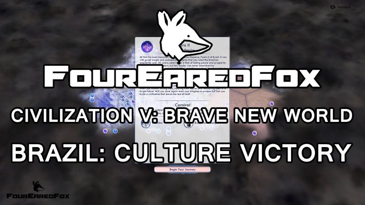 CIVILIZATION V: BNW Brazil  CULTURE VICTORY Quick Guide
