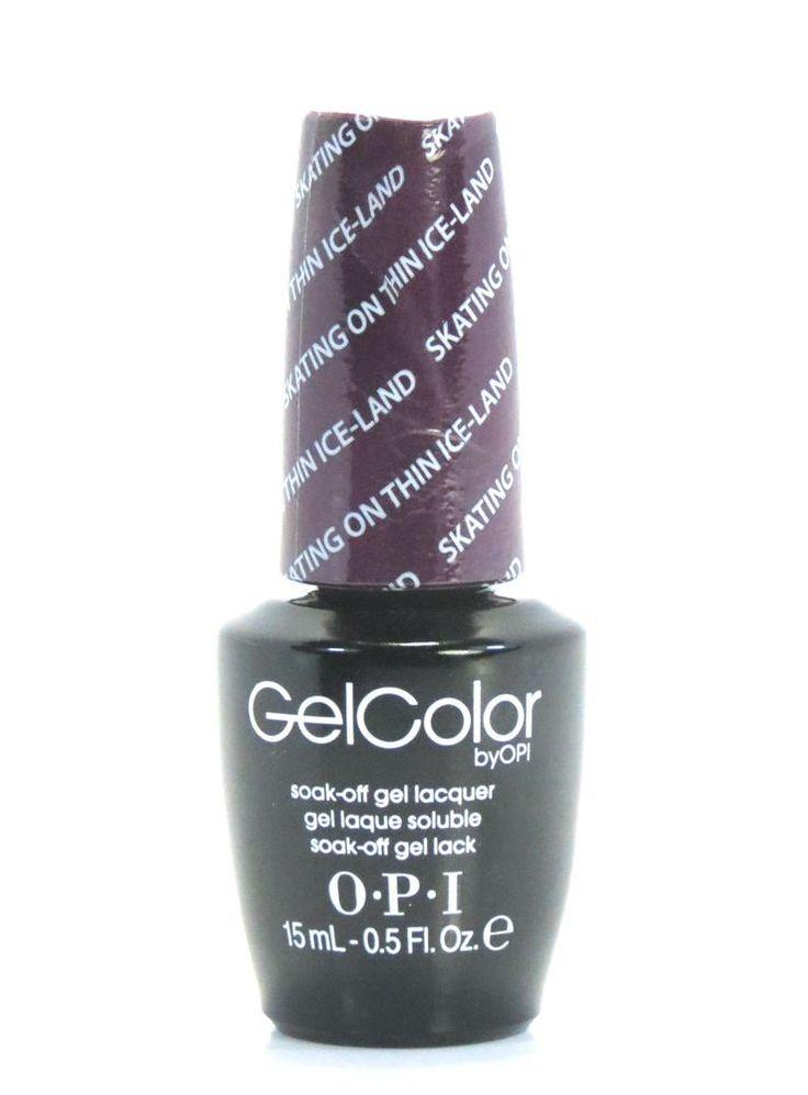 Opi GelColor Gel Nail Polish GCN50  Skating on Thin Ice-Land - 15 mL - 0.5 fl oz #OPI