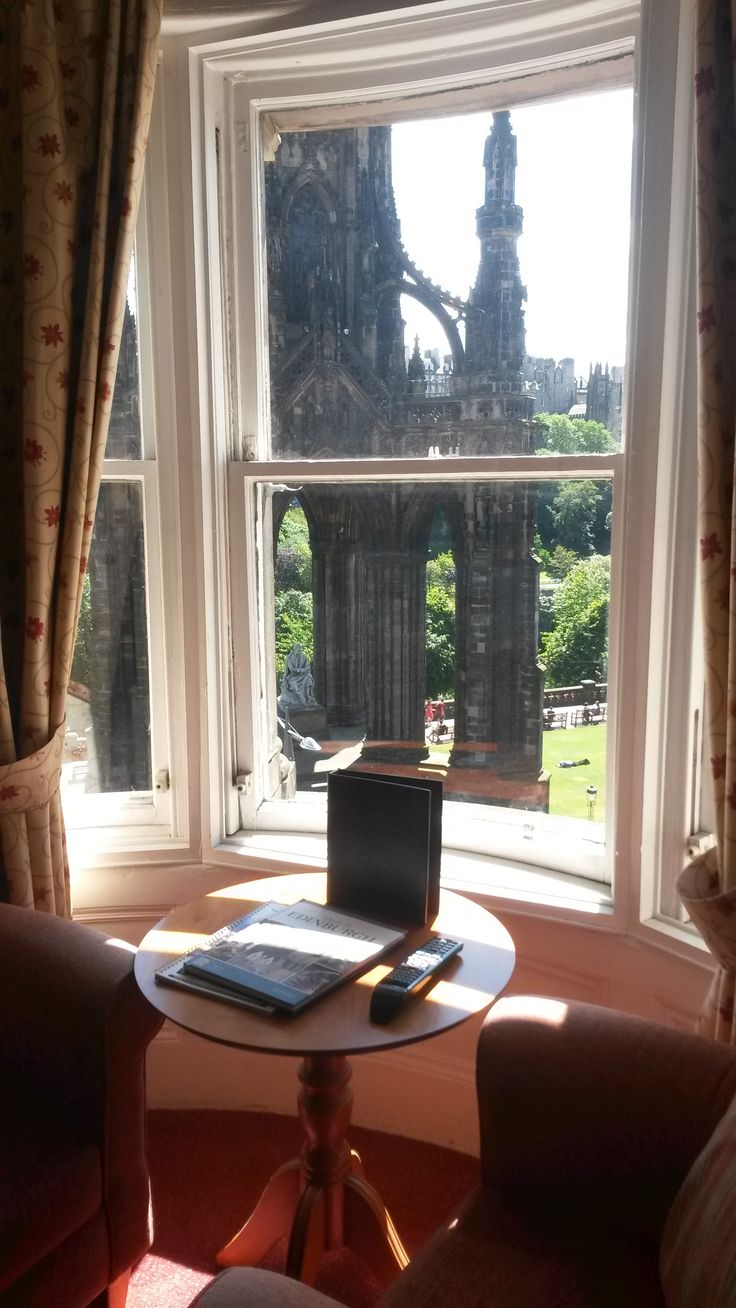 One of the Princes Street View bedrooms! Book your next stay at www.oldwaverley.co.uk.