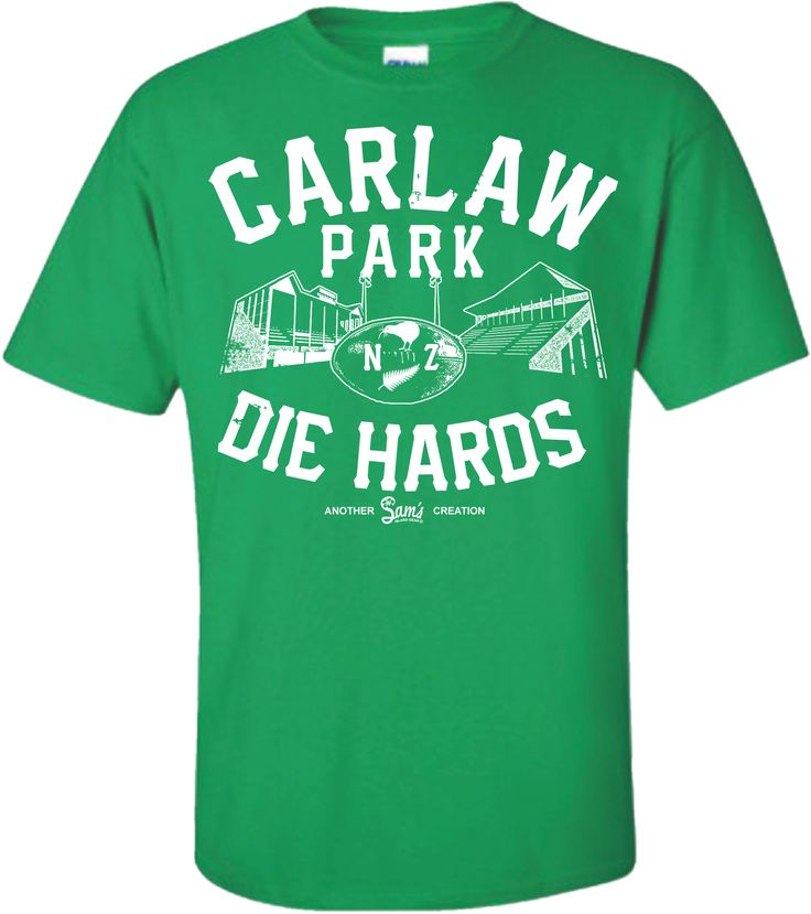 Carlaw Park Die Hards Tee Pirates Green