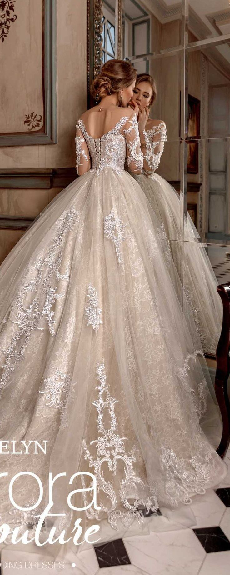 Ball gown, wedding dress, EVELYN, wedding dresses, bridal dress ...