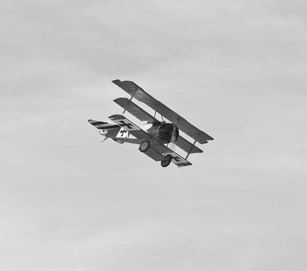 Fokker Dr1 Triplane at Farnborough Air Show