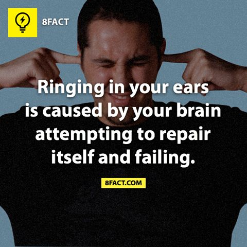 Well this explains a lot. My brain can't repair itself,  the legions will always be there and my ears ring a bunch