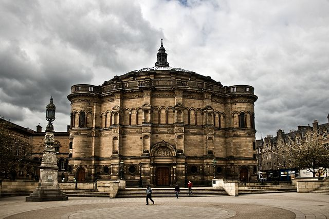 The McEwan Hall at the University of Edinburgh, Scotland -- I CAN'T BELIEVE I'M GOING TO BE A STUDENT HERE THIS FALL