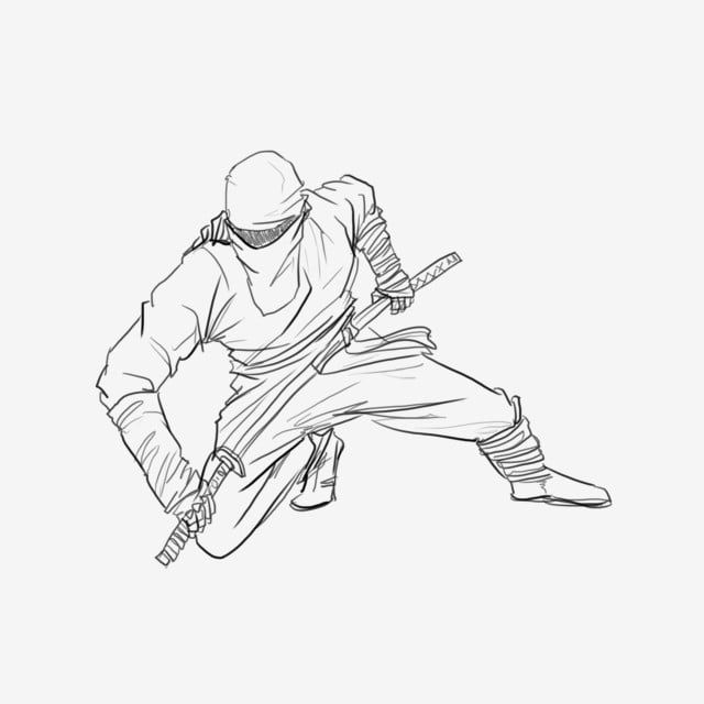 Dessin De Ninja