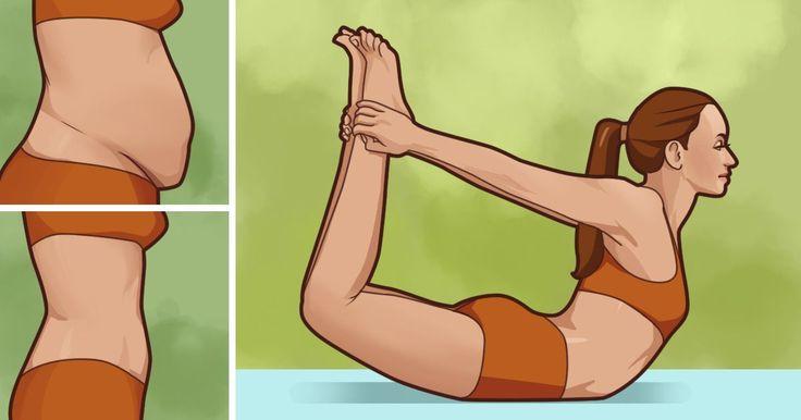 10 jóga póz a hasi zsír ellen