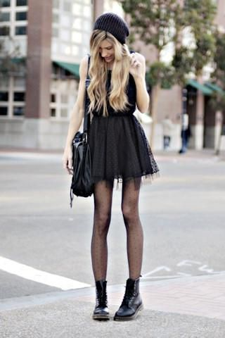 20 Style Tips On How To Wear Combat Boots Outfit Ideas | Gurl.com