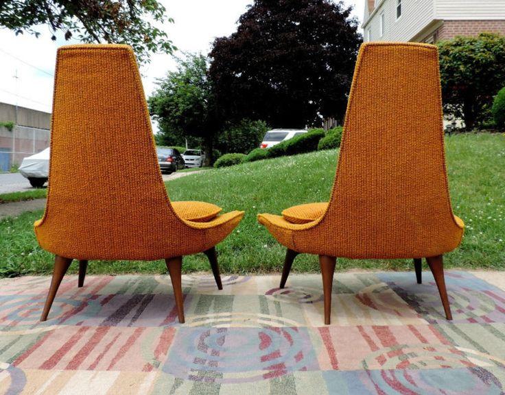 Войны шестидесятых холл/шлепанцы стулья транспорта штата калифорния современный дизайн середины века