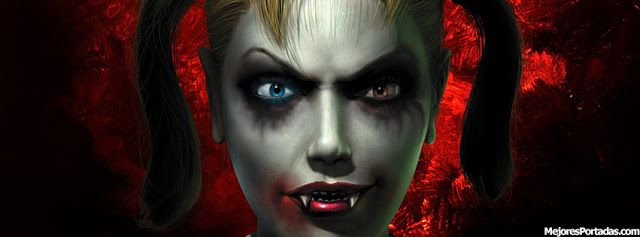Vampira rubia coletas