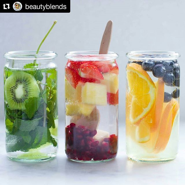 #Repost @beautyblends with @repostapp ・・・ Stay healthy and drink amazing flavoured water ☺☺ #detoxinfusedwater #detox #water #fruits #fruitinfusedwater #infusedwater #healthy #healthyeating #eathealthy #fitness #young #stayyoung #food #followme #instagood #like #healthylife