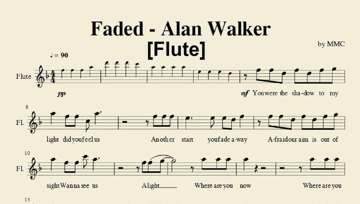 flute faded guitar tutorial - 736×417