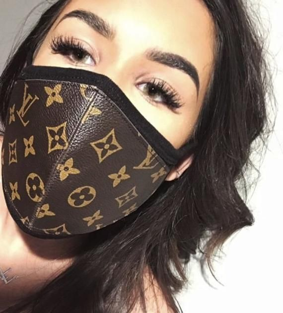 Louis Vuitton / Gucci / Supreme Half Face Mask