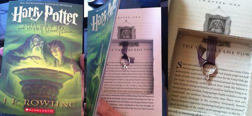 Harry Potter proposal... :): Idea, Harry Potter Proposals, Future Husband, Rings, Unbreak Vows, Harry Potter Books, Weddings Propo, Engagement, Marriage Proposals