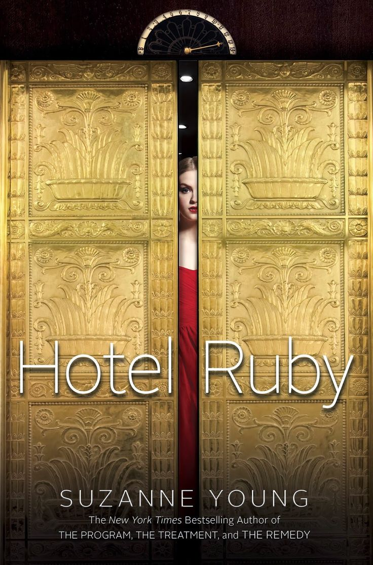#CoverReveal Hotel Ruby by Suzanne Young