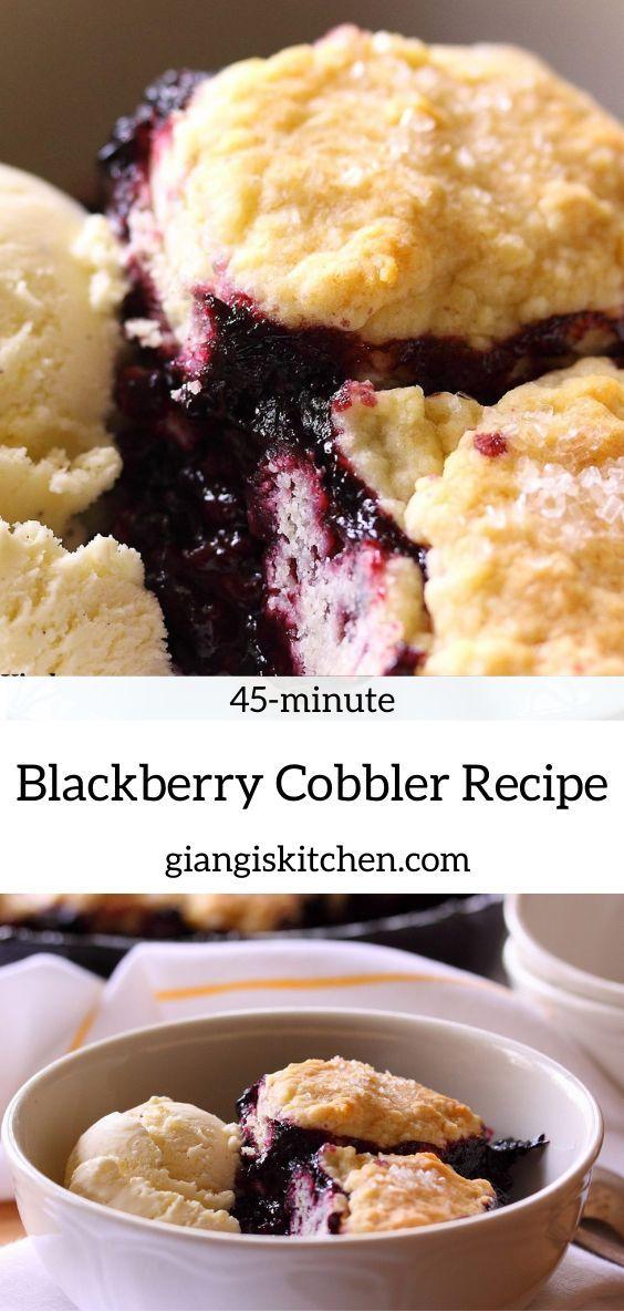 Jun 9, 2020 – Blackberry cobbler, when you think of summer dessert, blackberry cobbler is always the chosen one. Top it…