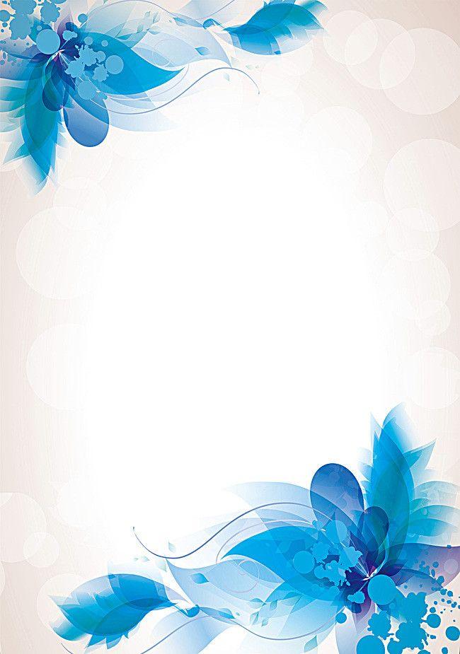 Imagem De Art Cartoon And Texture Blue Flowers Images Blue Flowers Flower Images