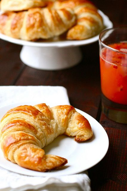 Homemade croissants - what a fun looking recipe!