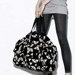 Oversized bag with pockets and more.  Looks perfect for the weekend.