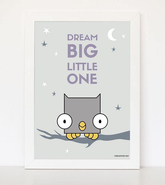 Dream Big Little One pastel