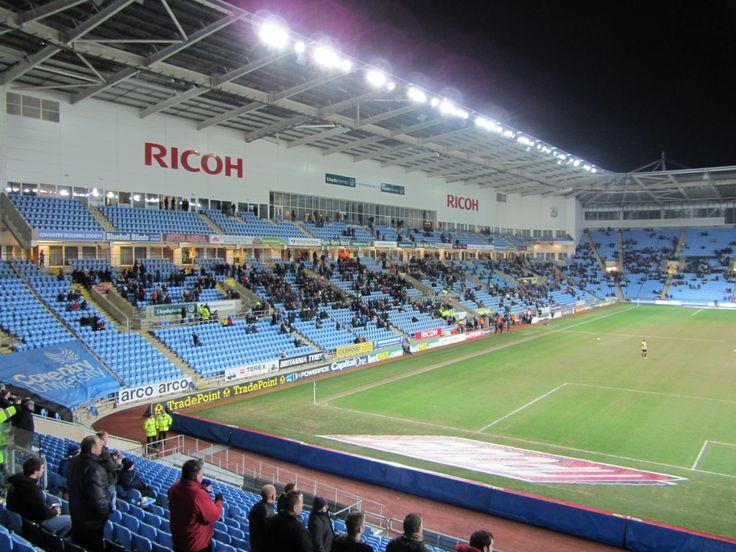 Ricoh Arena, Coventry, Inglaterra. Capacidad32.609 espectadores, Equipos locales: Wasps RFC y Coventry City FC.