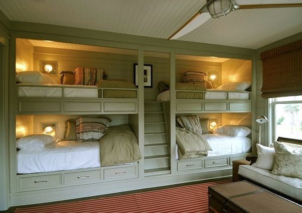 loft bed built in | Save space beautifully with loft beds that are built-in