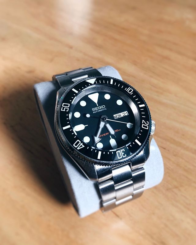 DeepSea007 - MODS: Double-domed sapphire crystal lumed DSSD ceramic