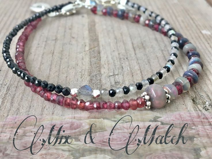 A personal favourite from my Etsy shop https://www.etsy.com/no-en/listing/546337514/opal-bracelet-red-garnet-bracelet-opal