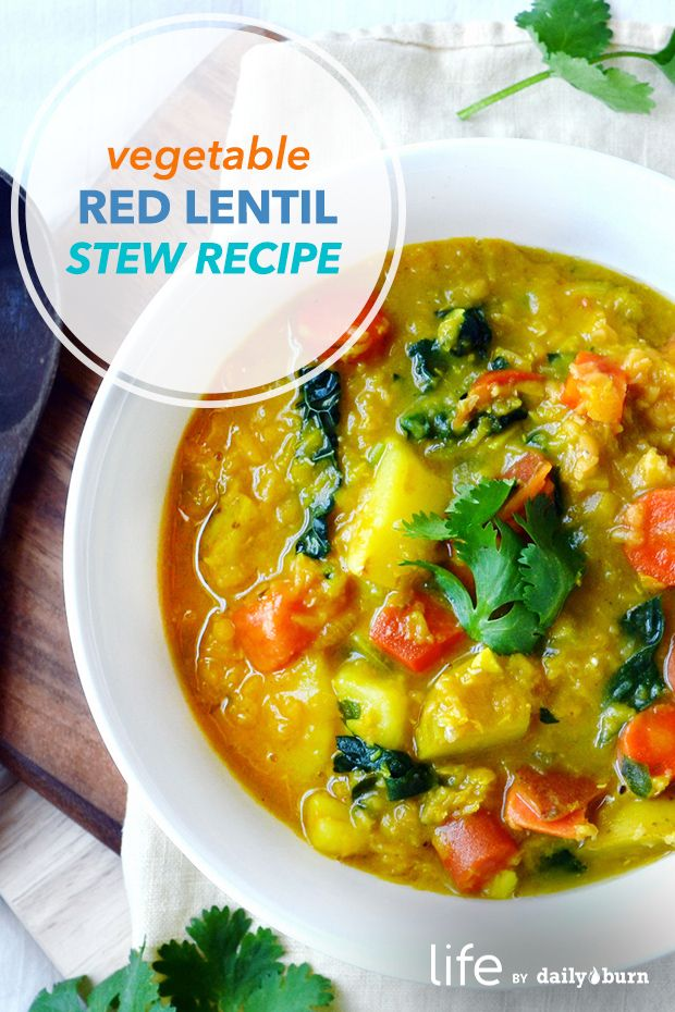 Root Vegetable Red Lentil Stew Recipe
