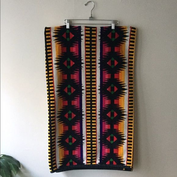 Pendleton Beach Towel Bright Southwestern Print Extra large towel/beach towel with beautiful southwestern Pendleton print. Pendleton Other