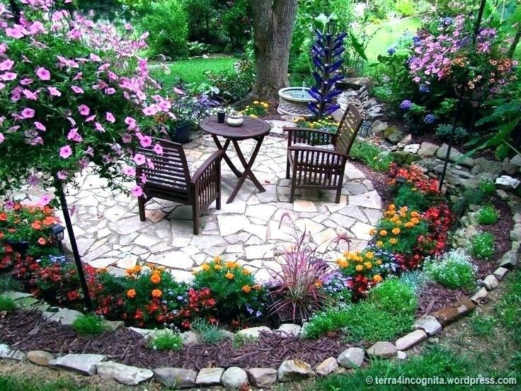 Sitzecke Im Garten Backyard Landscaping Designs Backyard Outdoor Gardens