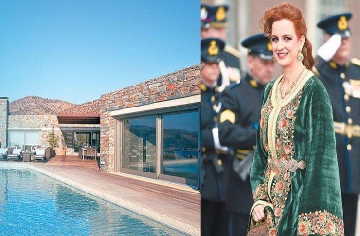 Καμπί (Κούνδουρος). «Φτωχικό»: Ένα ανάκτορο 3,8 εκατ. € για τη βασίλισσα του Μαρόκου.