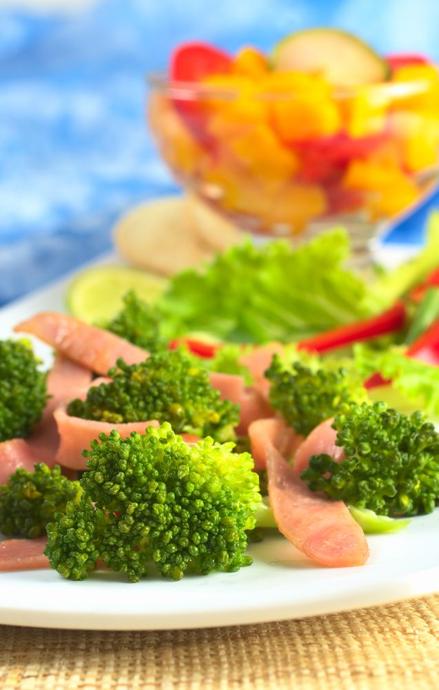 Przepis na brokuły w sosie musztardowym