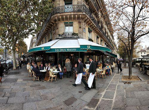 Café les Deux Magots, Saint Germain des Prés, Paris, france | Flickr - Photo Sharing!