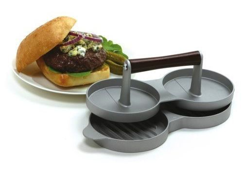 prensa hamburguesas