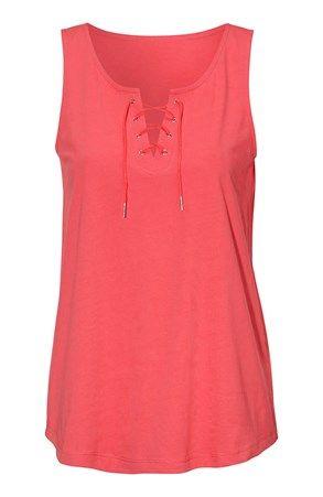 Fede Cellbes Top 2-Pack Koral Koralrød Mønstret Cellbes T-shirt & toppe til Damer i fantastisk kvalitet