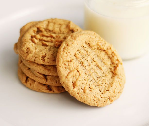 diabetic recipes No Sugar No Flour Peanut butter Cookies.