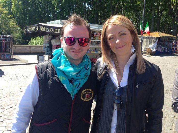 Con Giorgia Meloni
