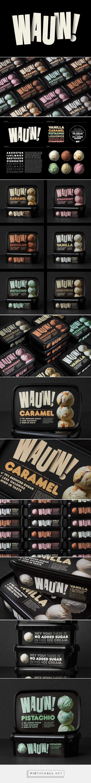 Wauw! Ice cream packaging design by SNASK - http://www.packagingoftheworld.com/2017/03/wauw.html