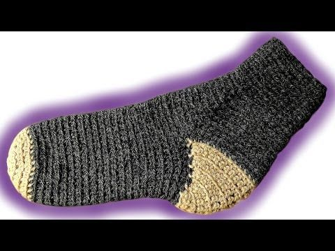 Crochet Slipper Super Easy Beginner by Maggie Weldon of Maggie's Crochet - YouTube