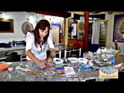 ADRIANA LEONEL - ARTE EM RECICLADOS - CIRCULADOR DE ENERGIA (CHI) USANDO CDS - YouTube