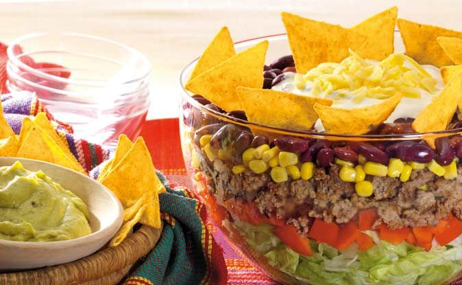 15 pins zu taco salat die man gesehen haben muss abendessen salate huhn taco salat und. Black Bedroom Furniture Sets. Home Design Ideas