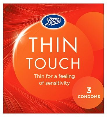 #Boots Thin Touch Condoms 3 Pack 10173361 #8 Advantage card points. Thin for a feeling of sensitivity FREE Delivery on orders over 45 GBP. (Barcode EAN=5045091573601)