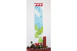 GO! Holiday Medley Skinny Wall Hanging Pattern