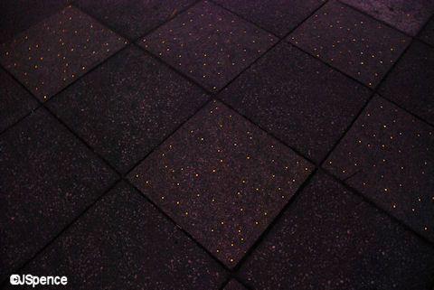 Fiber Optics Embedded In Black Tile Inspirations For A