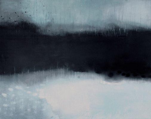 Helen Booth: Snowfall on LLanllwni
