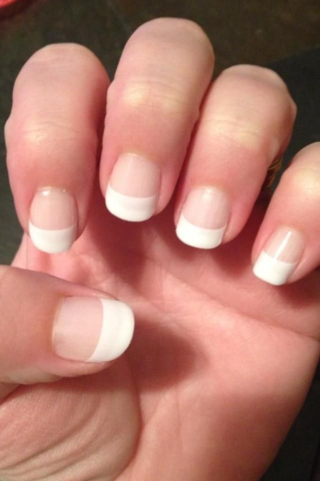 44 best nails images on Pinterest | Doors, French tips and Hairstyles